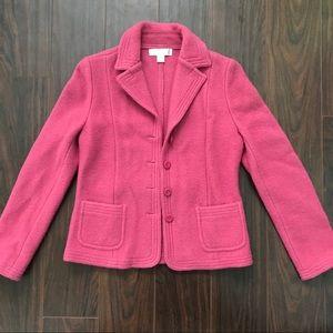 True Vintage Petite Sophisticate Pink Wool Coat